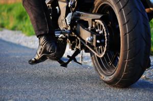 Ein Wildunfall mit dem Motorrad kann lebensgefährlich sein!