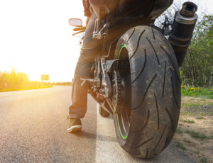 Ein Unfall mit dem Motorrad ist sehr risikoreich.