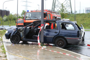 Die Versicherung muss nach einem Unfall über den Vorfall informiert werden.